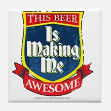 makingmeawesome Tile Coaster