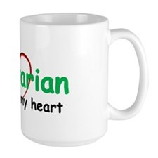 Vegetarian with all my Heart Mug