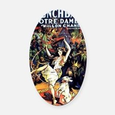 Hunchback_of_Notre_DameBIG BEST Oval Car Magnet