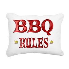 BBQ Rectangular Canvas Pillow