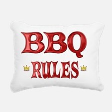 BBQ Rectangular Canvas Pillow