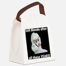 still blonde large words1 Canvas Lunch Bag