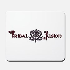 Tribal Fusion Logo Mousepad