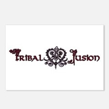 Tribal Fusion Logo Postcards (Package of 8)