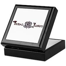 Tribal Fusion Logo Keepsake Box