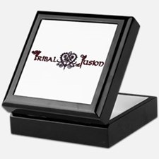 Tribal Fusion Logo Keepsake Box