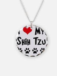 I-Love-My-Shih-Tzu Necklace