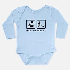 Field Spaniel Long Sleeve Infant Bodysuit