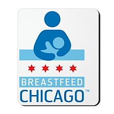 Breastfeed_Chicago_Logo_Æ?RGB-CafePress Mousepad