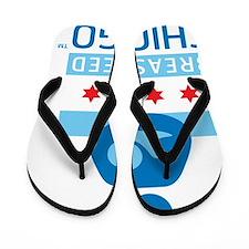 Breastfeed_Chicago_Logo_Æ?RGB-CafePress Flip Flops
