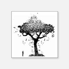"Tree Of Ash Square Sticker 3"" x 3"""