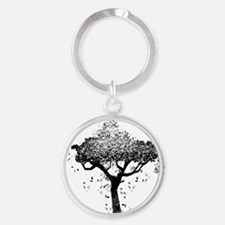 Tree Of Ash Round Keychain