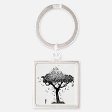 Tree Of Ash Square Keychain