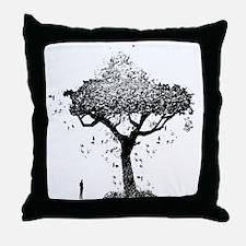 Tree Of Ash Throw Pillow