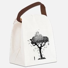 Tree Of Ash Canvas Lunch Bag