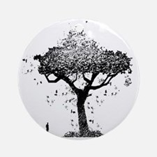Tree Of Ash Round Ornament