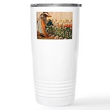 Mary, Mary Quite Contrary Print Travel Mug