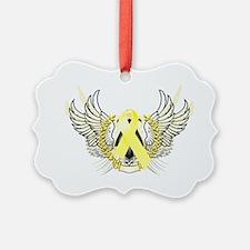Awareness Tribal Yellow copy Ornament