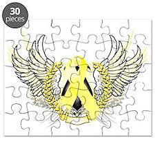 Awareness Tribal Yellow copy Puzzle
