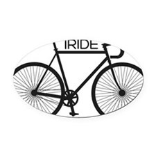 iRIDE Oval Car Magnet
