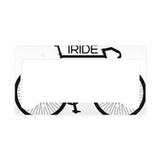 iRIDE License Plate Holder