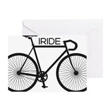 iRIDE Greeting Card