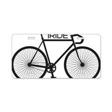 iRIDE Aluminum License Plate