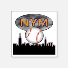 "nym Square Sticker 3"" x 3"""