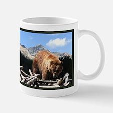 Framed Grizzly Bear Mug