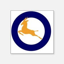 """7x7-Roundel_of_the_SAAF_194 Square Sticker 3"""" x 3"""""""