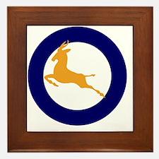 7x7-Roundel_of_the_SAAF_1947_1957 Framed Tile
