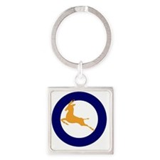 7x7-Roundel_of_the_SAAF_1947_1957 Square Keychain