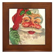 Santa Claus Framed Tile