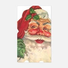 Santa Claus Sticker (Rectangle)