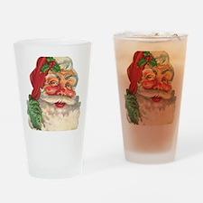 Santa Claus Drinking Glass