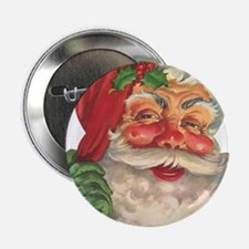 "Santa Claus 2.25"" Button"