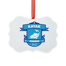 Kayak Fishing Ornament