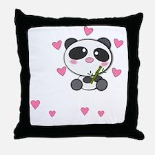panda-cub3 Throw Pillow