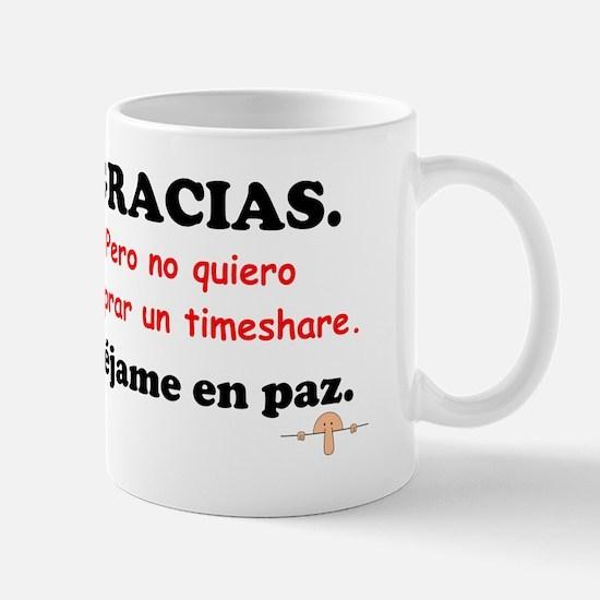 No timeshare Mug