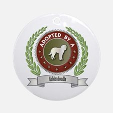 Goldendoodle Adopted Ornament (Round)
