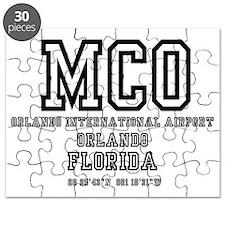 AIRPORT CODES - MCO - McCOY, ORLANDO, FLORI Puzzle