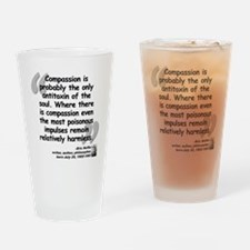 Hoffer Compassion Quote Drinking Glass