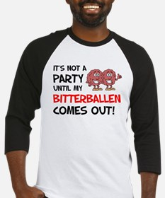 Not Party Until Bitterballen Baseball Jersey