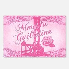 mme-la-guillotine-pink_13 Postcards (Package of 8)