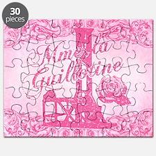mme-la-guillotine-pink_13-5x18 Puzzle