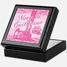 mme-la-guillotine-pink_13-5x18 Keepsake Box