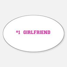 #1 Girlfriend Decal