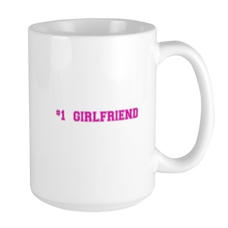 #1 Girlfriend Mugs