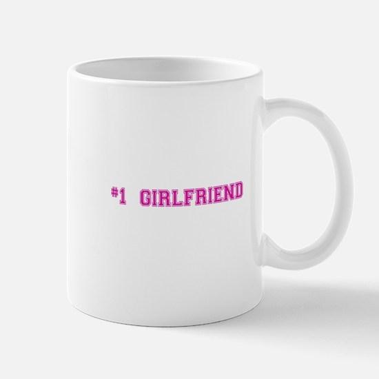 #1 Girlfriend Mugs