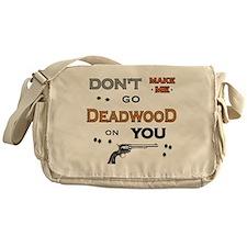 new deadwood1_edited-2 Messenger Bag